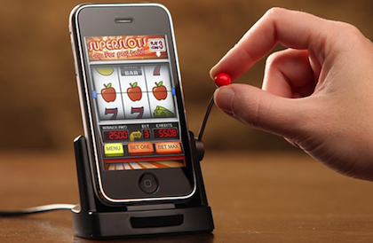 De groeiende hype van de mobiele casino games